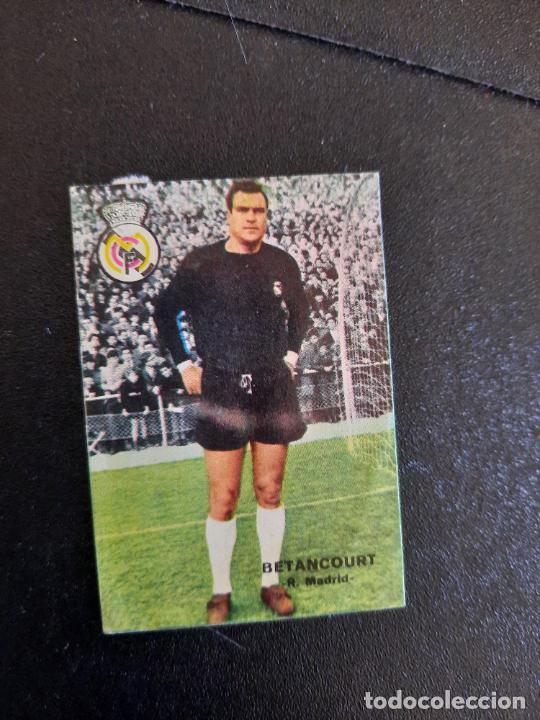 BETANCOURT REAL MADRID FHER 1967 1968 CROMO FUTBOL LIGA 67 68 - DESPEGADO - A44 - PG370 (Coleccionismo Deportivo - Álbumes y Cromos de Deportes - Cromos de Fútbol)