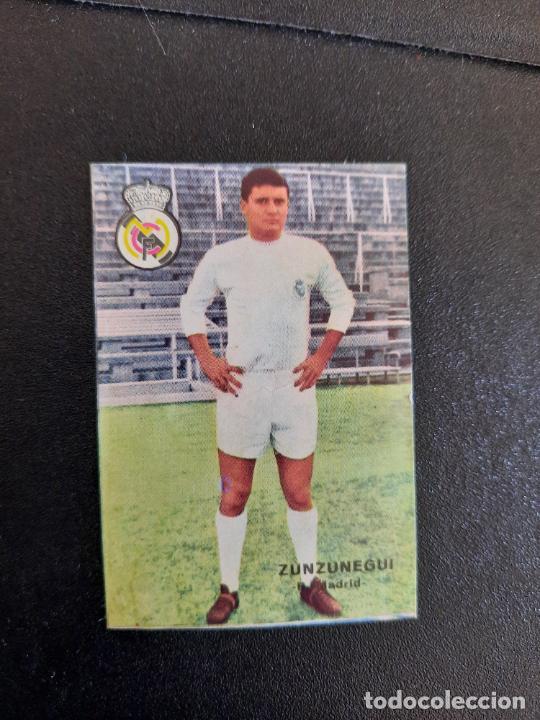 ZUNZUNEGUI REAL MADRID FHER 1967 1968 CROMO FUTBOL LIGA 67 68 - DESPEGADO - A44 - PG370 (Coleccionismo Deportivo - Álbumes y Cromos de Deportes - Cromos de Fútbol)