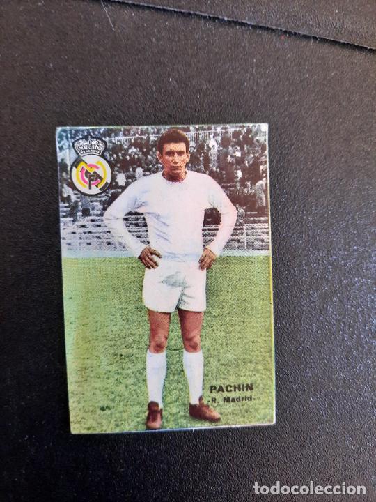 PACHIN REAL MADRID FHER 1967 1968 CROMO FUTBOL LIGA 67 68 - DESPEGADO - A44 - PG370 (Coleccionismo Deportivo - Álbumes y Cromos de Deportes - Cromos de Fútbol)