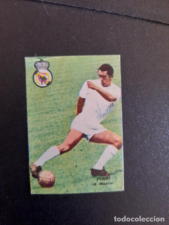 PIRRI REAL MADRID FHER 1967 1968 CROMO FUTBOL LIGA 67 68 - DESPEGADO - A44 - PG370 (Coleccionismo Deportivo - Álbumes y Cromos de Deportes - Cromos de Fútbol)
