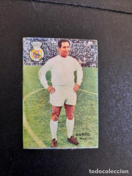 GENTO REAL MADRID FHER 1967 1968 CROMO FUTBOL LIGA 67 68 - DESPEGADO - A44 - PG370 (Coleccionismo Deportivo - Álbumes y Cromos de Deportes - Cromos de Fútbol)