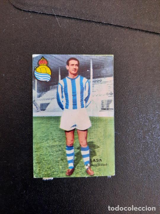 LASA REAL SOCIEDAD FHER 1967 1968 CROMO FUTBOL LIGA 67 68 - DESPEGADO - A44 - PG361 (Coleccionismo Deportivo - Álbumes y Cromos de Deportes - Cromos de Fútbol)