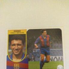Figurine di Calcio: CROMO 91/92 LIGA ESTE. EUSEBIO. BARCELONA. NUNCA PEGADO.. Lote 276961623