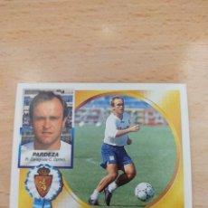 Figurine di Calcio: CROMO 94/95 LIGA ESTE. PARDEZA. REAL ZARAGOZA. NUNCA PEGADO.. Lote 277033343