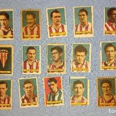 Cromos de Fútbol: CROMOS DE FUTBOL ORIGINALES PRINCIPIOS AÑOS 50 AZAFRANES MARI SOL NOVELDA ALICANTE. Lote 277036478