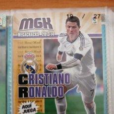 Cartes à collectionner de Football: MEGACRACKS 2013-14 CRISTIANO RONALDO N 216. Lote 277126488