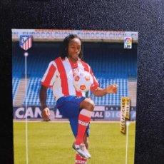 Cromos de Fútbol: MUSAMPA AT MADRID MEGACRACKS PANINI MEGAFICHAS 03 04 CROMO FUTBOL LIGA 2003 2004 A45 - 50. Lote 277160623