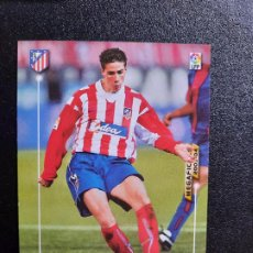 Cromos de Fútbol: FERNANDO TORRES AT MADRID MEGACRACKS PANINI MEGAFICHAS 03 04 CROMO FUTBOL LIGA 2003 2004 A45 - 54. Lote 277160818