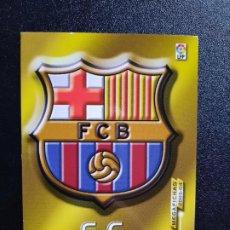 Cromos de Fútbol: ESCUDO BARCELONA MEGACRACKS PANINI MEGAFICHAS 03 04 CROMO FUTBOL LIGA 2003 2004 - A45 - 55. Lote 277160878