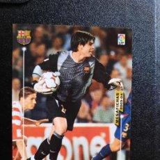 Cromos de Fútbol: VICTOR VALDES BARCELONA MEGACRACKS PANINI MEGAFICHAS 03 04 CROMO FUTBOL LIGA 2003 2004 - A45 - 56. Lote 277160918