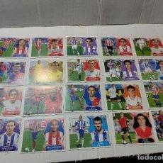 Cromos de Fútbol: CROMOS LIGA ESTE 2008/09 ÚLTIMOS FICHAJES LOTE 19 Y MESSI NO PEGADO MUY BUEN ESTADO. Lote 277279893