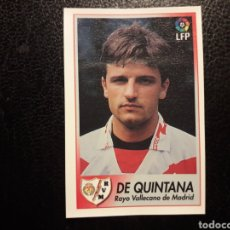 Cromos de Fútbol: DE QUINTANA RAYO VALLECANO N° 188 BOLLYCAO 1996-1997 96-97. SIN PEGAR. VER FOTOS. PEDIDO MÍNIMO 3 €.. Lote 277305598
