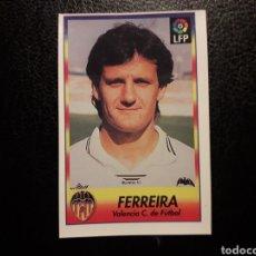 Cromos de Fútbol: FERREIRA VALENCIA CF N° 252 BOLLYCAO 1996-1997 96-97. SIN PEGAR. VER FOTOS. PEDIDO MÍNIMO 3 €.. Lote 277305663