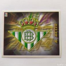 Cromos de Fútbol: LIGA ESTE 2003 2004 03 04 PANINI ESCUDO REAL BETIS. Lote 277306078