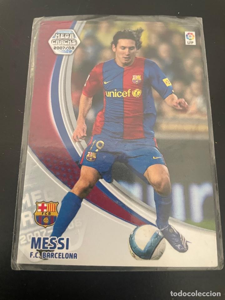 Cromos de Fútbol: MESSI MEGA CRACKS 2007-2008 (IMPECABLE) - Foto 2 - 277465488