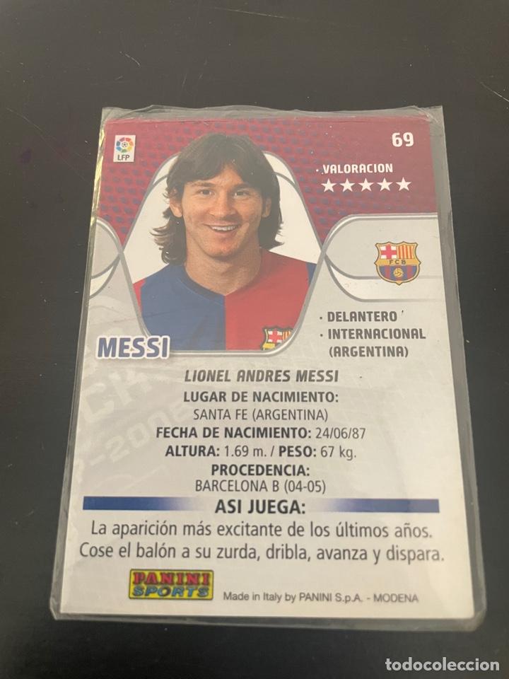 Cromos de Fútbol: MESSI MEGA CRACKS 2007-2008 (IMPECABLE) - Foto 3 - 277465488