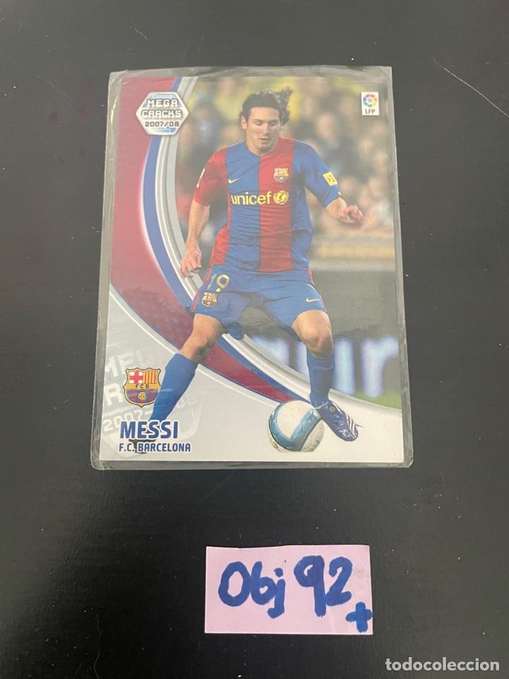 MESSI MEGA CRACKS 2007-2008 (IMPECABLE) (Coleccionismo Deportivo - Álbumes y Cromos de Deportes - Cromos de Fútbol)