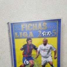 Cromos de Fútbol: LOTE DE 367 CROMOS, LAS FICHAS DE LA LIGA 2005 ( MUNDICROMO SPORT ) + ARCHIVADOR EXCELENTE ESTADO. Lote 277608893