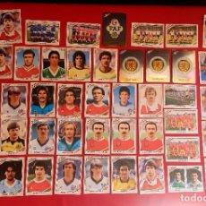 Cromos de Fútbol: LOTE DE CROMOS DE FUTBOL MUNDIAL MEXICO 86 EN PERFECTO ESTADOS.TAL CUAL COMO SE VE EN FOTOS. Lote 277609498