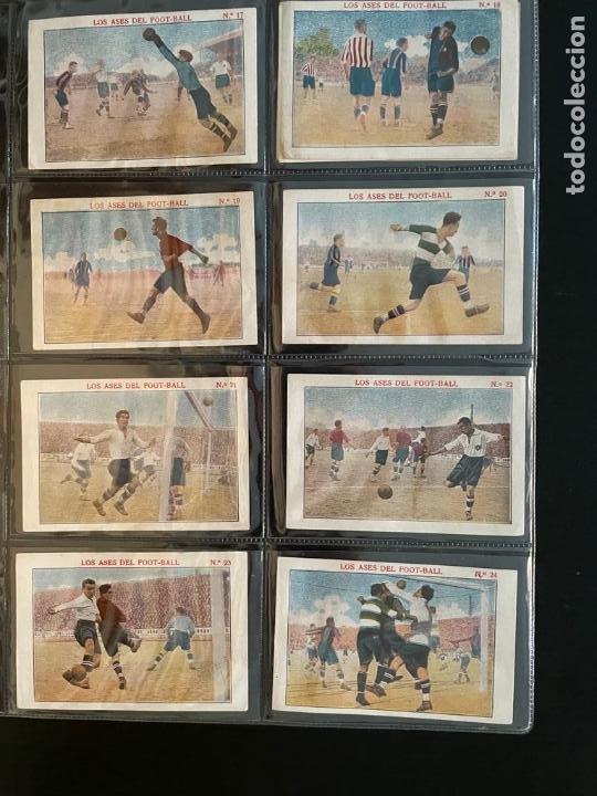 Cromos de Fútbol: COLECCIÓN COMPLETA DE CROMOS DE FUTBOL (LOS ASES DEL FOOT-BALL) - Foto 3 - 277611228