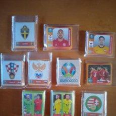 Cromos de Fútbol: LOTE DE 375 CROMOS EURO 2020 PANINI. Lote 277622248
