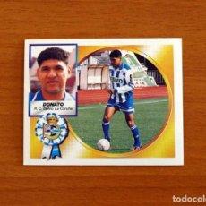 Cromos de Fútbol: DEPORTIVO LA CORUÑA - DONATO - EDICIONES ESTE 1994-1995, 94-95 - NUNCA PEGADO. Lote 277637183