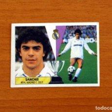 Cromos de Fútbol: REAL MADRID - SANCHIS - EDICIONES ESTE 1987-1988, 87-88 - CROMO NUNCA PEGADO. Lote 277637798