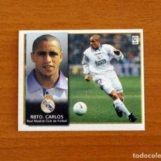 Cromos de Fútbol: REAL MADRID - ROBERTO CARLOS - EDICIONES ESTE 1998-1999, 98-99 - NUNCA PEGADO. Lote 277638318