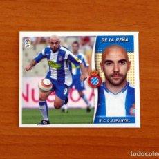 Cromos de Fútbol: R.C.D. ESPAÑOL, ESPANYOL - DE LA PEÑA - LIGA 2006-2007, 06-07 - EDICIONES ESTE - NUNCA PEGADO. Lote 277638403