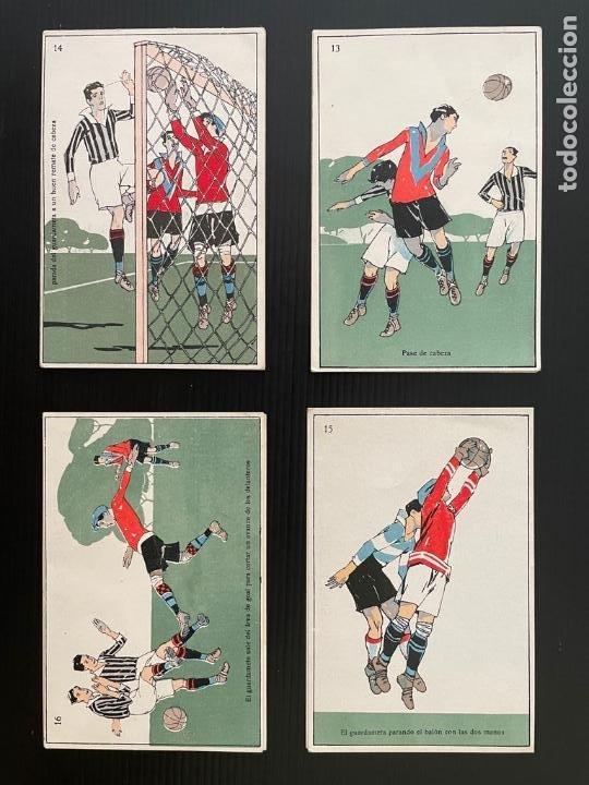 Cromos de Fútbol: COLECCIÓN COMPLETA DE 20 CROMOS DE FUTBOL - TARJETA POSTAL (LABORATORIO BESOY) - Foto 3 - 277723923