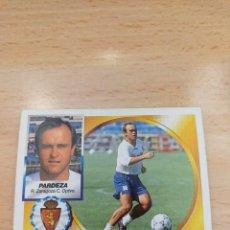 Cromos de Fútbol: CROMO 94/95 LIGA ESTE. PARDEZA. REAL ZARAGOZA. NUNCA PEGADO.. Lote 277729153
