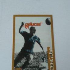 Cromos de Fútbol: CÉSAR RODRÍGUEZ EL PELUCAS CROMO CARTA CARD BARCELONA MUNDO DEPORTIVO BARÇA ORO. Lote 277729358