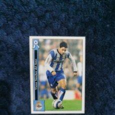 Cromos de Fútbol: FICHAS LIGA MUNDICROMO 2005-2006- Nº 208 VÍCTOR DEPORTIVO LA CORUÑA. Lote 277764728