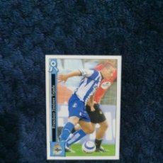 Cromos de Fútbol: FICHAS LIGA MUNDICROMO 2005-2006- Nº 212 XISCO DEPORTIVO LA CORUÑA. Lote 277765018