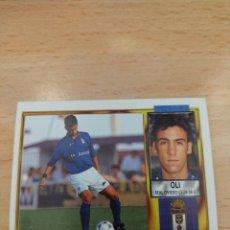 Cromos de Fútbol: CROMO 95/96 LIGA ESTE. OLI. REAL OVIEDO. NUNCA PEGADO.. Lote 277820748
