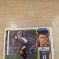 Cromos de Fútbol: CROMO 95/96 LIGA ESTE. RAFA. REAL OVIEDO. NUNCA PEGADO.. Lote 277820863