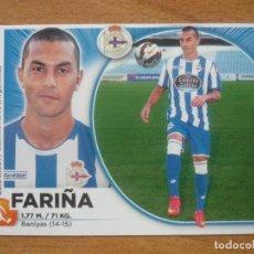 Cromos de Fútbol: ESTE 2014 2015 PANINI Nº 15 FARIÑA (DEPORTIVO CORUÑA) - CROMO FUTBOL LIGA 14 15. Lote 277821143