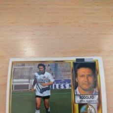 Cromos de Fútbol: CROMO 95/96 LIGA ESTE. RODOLFO. SALAMANCA. NUNCA PEGADO.. Lote 277846908