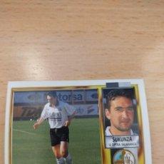 Cromos de Fútbol: CROMO 95/96 LIGA ESTE. SUKUNZA. SALAMANCA. NUNCA PEGADO.. Lote 277846998