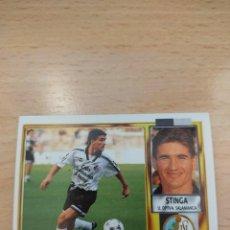 Cromos de Fútbol: CROMO 95/96 LIGA ESTE. STINGA. SALAMANCA. NUNCA PEGADO.. Lote 277847038