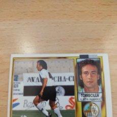 Cromos de Fútbol: CROMO 95/96 LIGA ESTE. TORRECILLA. SALAMANCA. NUNCA PEGADO.. Lote 277847128