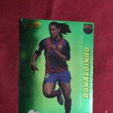 Cromos de Fútbol: MEGACRACKS 2004 2005 PANINI. RONALDINHO. Nº 387 MEGA ESTRELLAS F.C BARCELONA. Lote 277847233