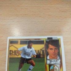 Cromos de Fútbol: CROMO 95/96 LIGA ESTE. VELLISCA. SALAMANCA. NUNCA PEGADO.. Lote 277847298