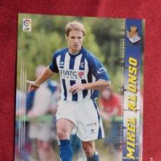 Cromos de Fútbol: MEGACRACKS 2004 2005 PANINI. MIKEL ALONSO. Nº 301 BIS. NUEVA FICHA. REAL SOCIEDAD. Lote 277848163