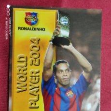Cromos de Fútbol: RONALDINHO. Nº 92. BARÇA CAMPIÓ. MEGACRACKS 2004 2005. PANINI. Lote 277849243
