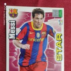 Cromos de Fútbol: MESSI. STAR. F. C. BARCELONA. ADRENALYN 2010-2011. PANINI. Lote 277849658