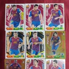Cromos de Fútbol: F.C. BARCELONA. LOTE 24 CROMOS. ADRENALYN 2011-2012. PANINI. VER FOTOS ADICIONALES. Lote 277850243