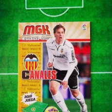 Cromos de Fútbol: CROMO FUTBOL MEGACRACKS LIGA 13 14 PANINI 2013 2014 MEGA CRACKS VALENCIA CF 320 CANALES. Lote 277855103