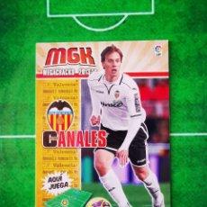 Cromos de Fútbol: CROMO FUTBOL MEGACRACKS LIGA 13 14 PANINI 2013 2014 MEGA CRACKS VALENCIA CF 320 CANALES. Lote 277855113