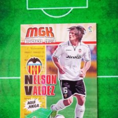 Cromos de Fútbol: CROMO FUTBOL MEGACRACKS LIGA 13 14 PANINI 2013 2014 MEGA CRACKS VALENCIA CF 322 NELSON VALDEZ. Lote 277855153